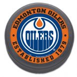 Edmonton Oilers, Established 1979 NHL Puck with Display Case